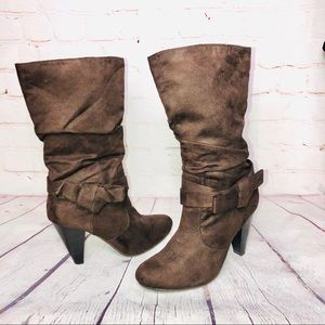 Seychelles Suede Bow Boots